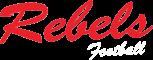 Taber Rebels Football Logo